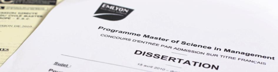Première ES : la dissertation